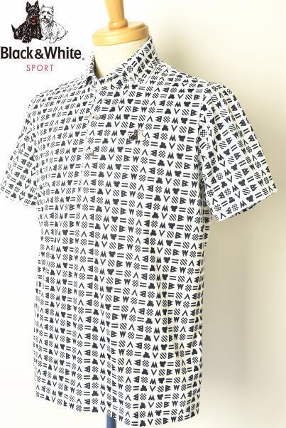 ブラック&ホワイト ゴルフ Black&White半袖ポロシャツ メンズ 2020春夏新作 送料無料M-L-LL トップス ブラック アンド ホワイトあす楽_翌日着荷可