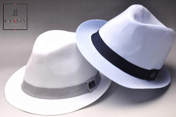 ランキング1位受賞!ランバン スポール ゴルフ LANVIN SPORTセンタークリースハット メンズ 2020春夏新作 送料無料59 中折れ帽子 ランバン スポールあす楽_翌日着荷可