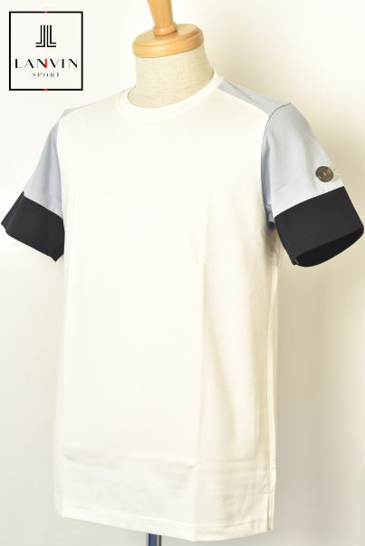 ランバン スポール ゴルフ LANVIN SPORT半袖Tシャツ メンズ 2020春夏新作 送料無料M-L-LL トップス ランバン スポールあす楽_翌日着荷可