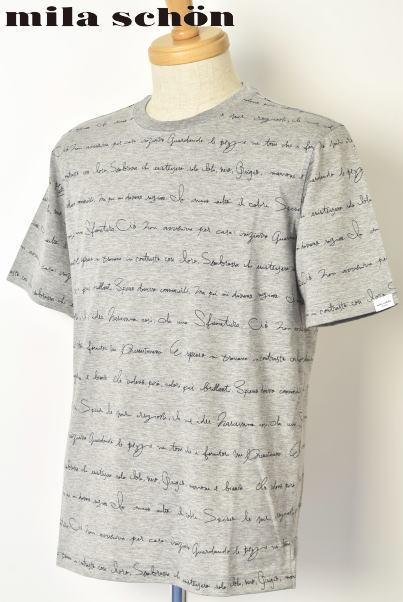 30%OFFセールミラショーン mila schon半袖Tシャツ メンズ 2020春夏新作 送料無料M-L-LL トップス ミラショーンあす楽_翌日着荷可