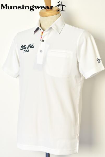 マンシングウェア ゴルフ Munsingwear半袖ポロシャツ メンズ 2020春夏新作 送料無料M-L-LL トップス マンシングあす楽_翌日着荷可 テレワーク