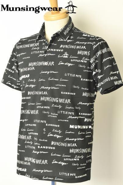 マンシングウェア ゴルフ Munsingwear半袖ポロシャツ メンズ 2020春夏新作 送料無料M-L-LL SAYURI NISHIKUBO トップス マンシングあす楽_翌日着荷可
