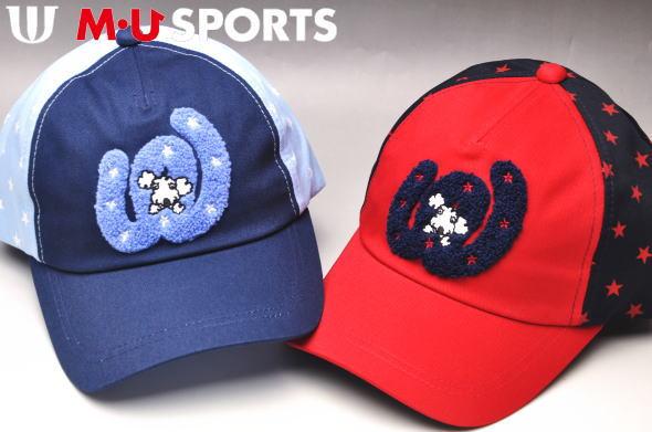 30%OFFセールMUスポーツ ゴルフ M・U SPORTSキャップ レディース 2019秋冬新作帽子 エムユースポーツあす楽_翌日着荷可