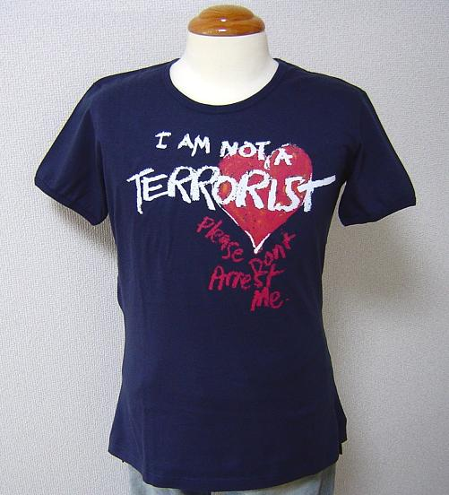 ◆Vivienne Westwood◆維維恩維斯特伍德★I am not a Terrorist. Please don't Arrest me. T恤NV