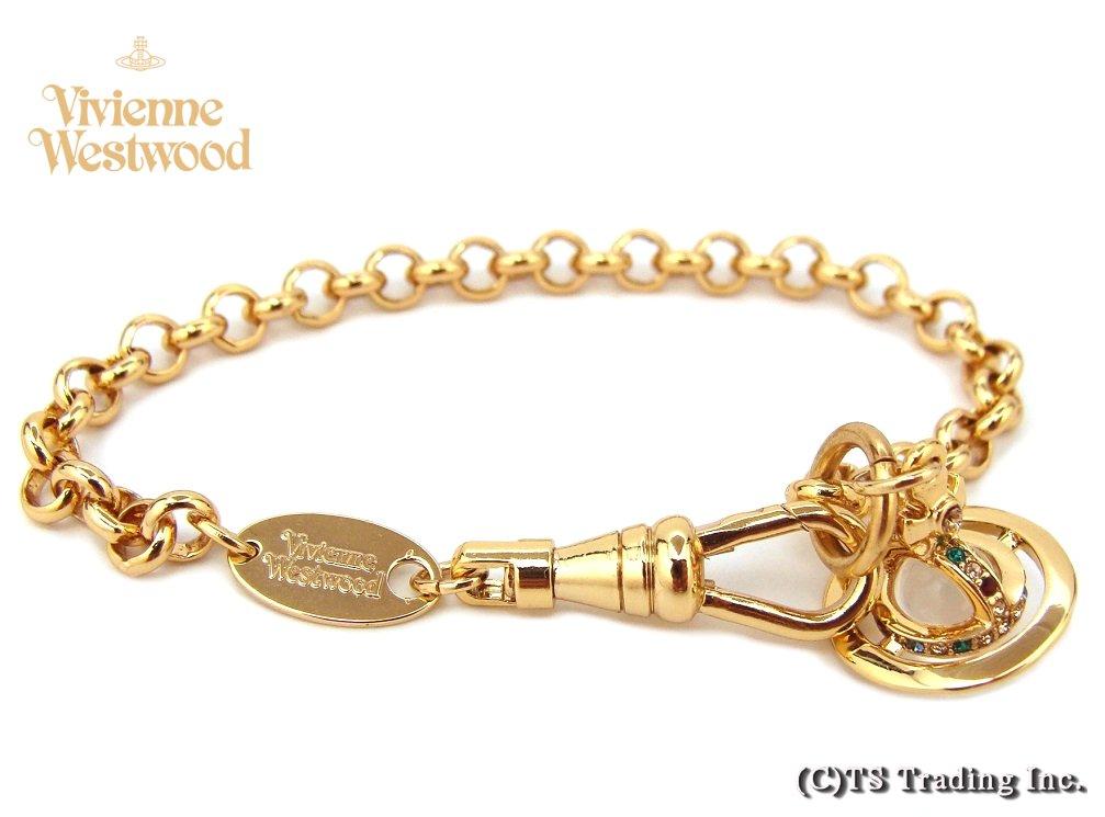 Vivienne Westwood ヴィヴィアンウエストウッド ★New Petit Orb Bracelet プチ オーブ ブレスレット(GOLD)【あす楽対応】【YDKG-k】【W3】【送料無料】【smtb-k】
