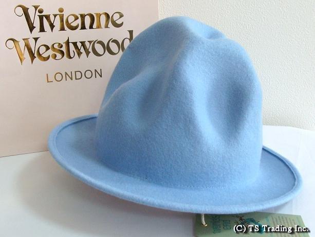 Vivienne Westwood ヴィヴィアンウエストウッド Felt Mountain hat 限定☆フエルト・マウンテン ハット(Babyブルー)【送料無料】【あす楽対応】【YDKG-k】【W3】