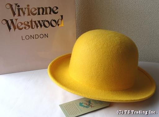 Vivienne Westwood • Vivienne Westwood ☆ Felt Bowler hat Origin Size limited  ☆ felt-borer hat (Yellow) by world s end d406f12d4a7