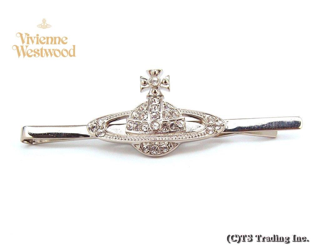 Vivienne Westwood ヴィヴィアンウエストウッド Mini Bas Relief Orb Tie Pin ミニバスレリーフ オーブ ネクタイピン(SV)【あす楽対応】【YDKG-k】【W3】【送料無料】【smtb-k】
