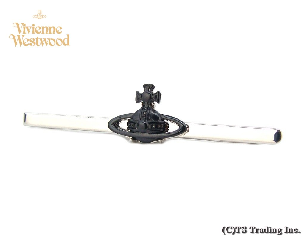 Vivienne Westwood ヴィヴィアンウエストウッド Suzon Orb Tie Pin オーブ ネクタイピン (BK/SV)【あす楽対応】【YDKG-k】【W3】【送料無料】【smtb-k】