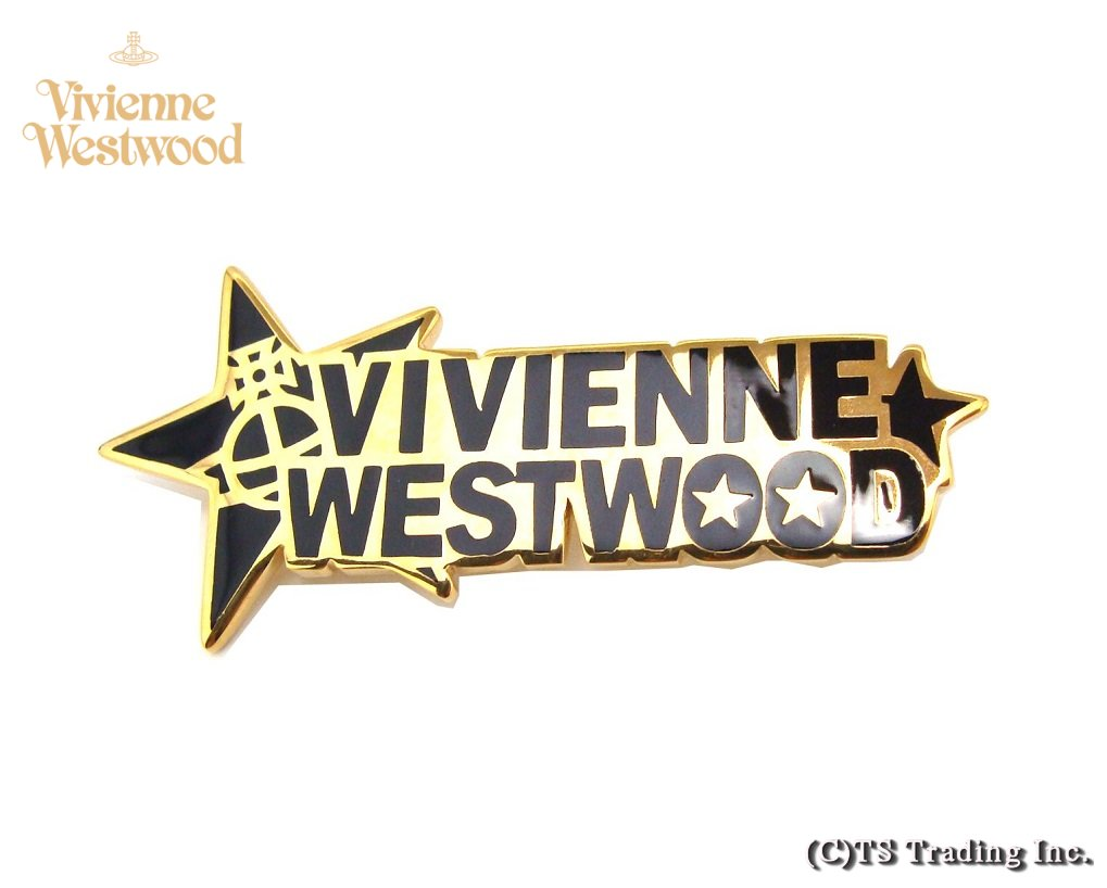 Vivienne Westwood ヴィヴィアンウエストウッド VW ロゴ ORB ブローチ GOLD【あす楽対応】【YDKG-k】【W3】【送料無料】【smtb-k】