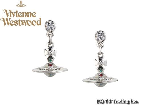 Vivienne Westwood ヴィヴィアンウエストウッド★New Petite Orb Pierced Earrings(SV)新・プチ オーブ ピアス (SV)【あす楽対応】【YDKG-k】【W3】【送料無料】【smtb-k】