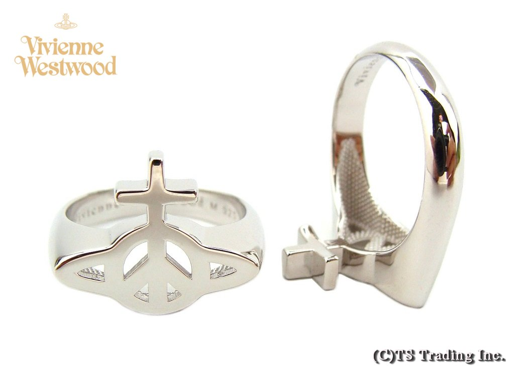 Vivienne Westwood ヴィヴィアンウエストウッド Peace Orb Ring ピースマーク CND オーブ リング SV925【あす楽対応】【YDKG-k】【W3】【送料無料】【smtb-k】