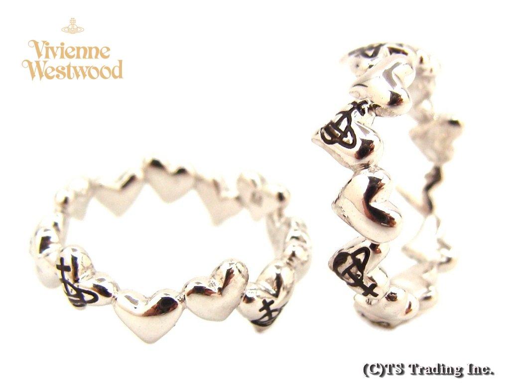 Vivienne Westwood ヴィヴィアンウエストウッド Rosalinda Heart Orb Ring ロザリンダ ハート リング SV925【あす楽対応】【YDKG-k】【W3】【送料無料】【smtb-k】