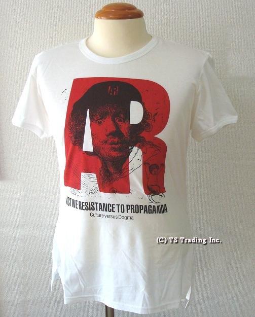 Vivienne Westwood ヴィヴィアンウエストウッド★『AR :Active Resistance』T-shirtsLondon World's End店 限定☆AR Tシャツ (White)【あす楽対応】【YDKG-k】【W3】【送料無料】【smtb-k】