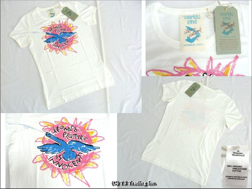 ◆Vivienne Westwood◆維維恩維斯特伍德★Worlds End FLYING Penis Tee☆wa-ruzuendo T恤