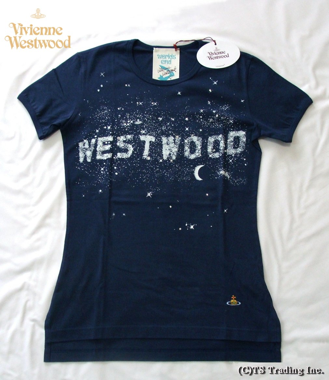 Vivienne Westwood ヴィヴィアンウエストウッド ★Milky Way Tee ミルキーウェイ Tシャツ (NV-SUO)【あす楽対応】【YDKG-k】【W3】【送料無料】