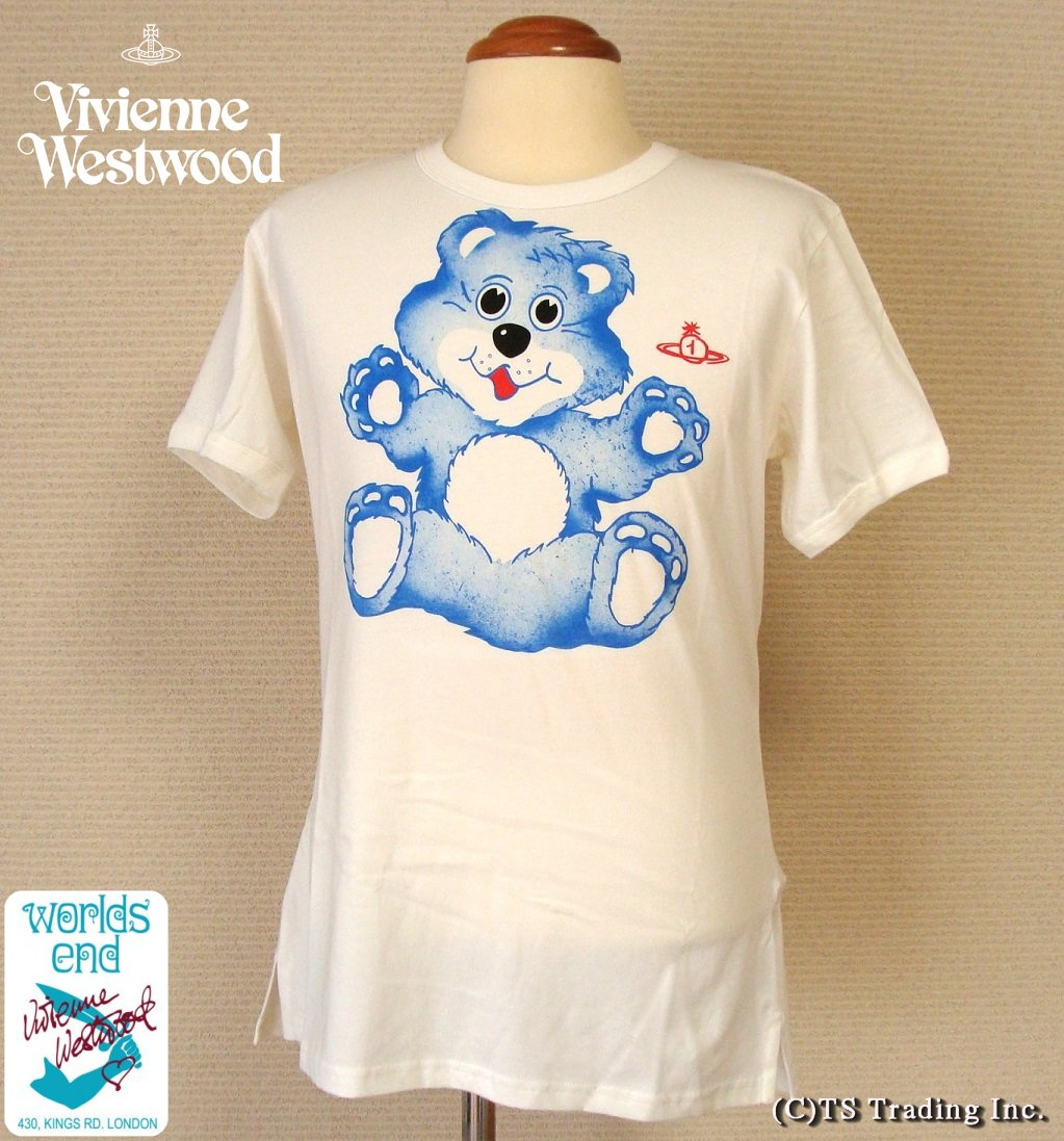 Vivienne Westwood ヴィヴィアンウエストウッド★Worlds End Care Bear Print Tee ☆ケア ベアー プリント Tシャツ【あす楽対応】【YDKG-k】【W3】【送料無料】【smtb-k】