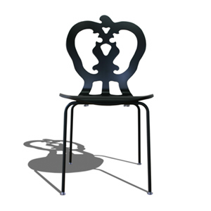 SILHOUETTE CHAIR VICTORIA NIGHTGREEN シルエットチェア ヴィクトリア ナイトグリーン