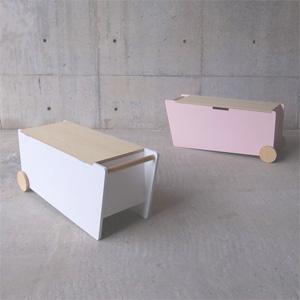 【送料無料】abode(アボード)BENCH BOX ベンチボックスTakafumi Tsuru 津留 敬文収納・おもちゃ箱・木箱・小物入れ・サイドテーブル