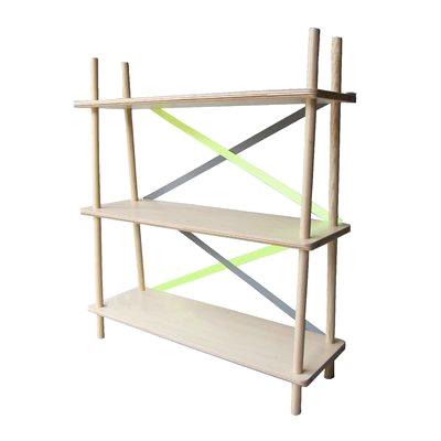 【送料無料】abode アボードXX シェルフ背面のテープがアクセントのシンプルなシェルフ棚/収納/本棚/【代引不可】