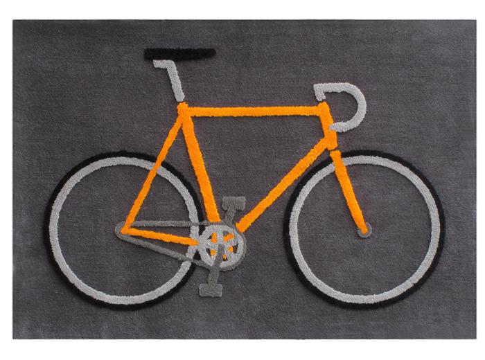 Bicycle バイシクル Alexander Gelman アレクサンダー・ゲルマン 自転車のラグマット/絨毯/カーペット【代引不可】【送料2,268円】