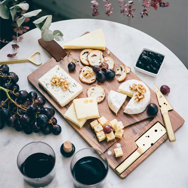 Cheeseporn チーズポルノ doiy ドゥ アイ ワイ 木製 カッティングボード チーズナイフ フードポルノ