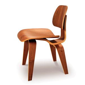 【送料無料】 EAMES チャールズ&レイ・イームズ DCW チェア / Dining Chair Woodl leg ウォールナット