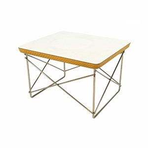 EAMES / チャールズ&レイ・イームズLTR テーブル(Low Table Rod Wire Base)ホワイト