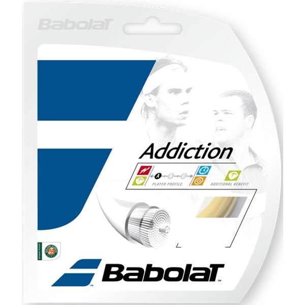 ポイントアップ 張上げ専用 バボラ アディクション 12mロールカット品 Addiction [宅送] 135mm 1.30mm 高額売筋 1.25mm Babolat