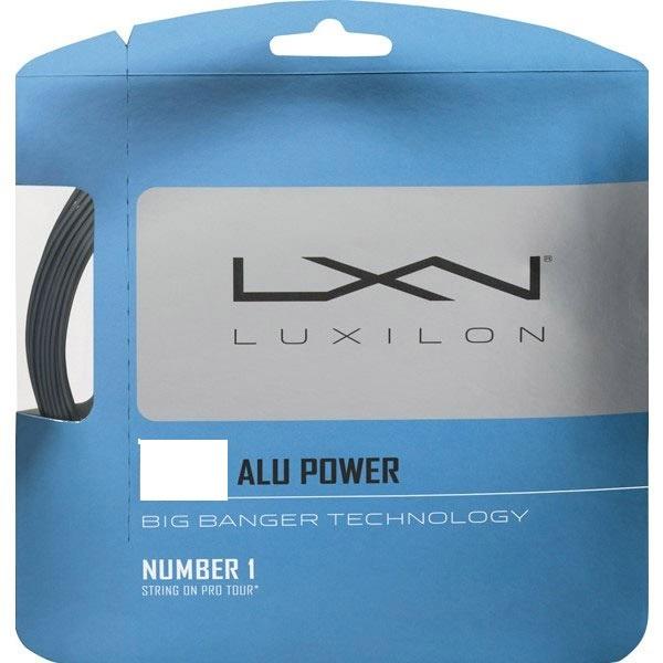 ポイントアップ 張上げ専用 Luxilon ALUPOWER 直営ストア アルパワー 1.38mm ルキシロン スーパーセール期間限定