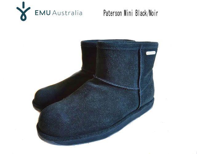 EMU エミューPATERSON MINIBlack/Noir【正規品】シープスキン