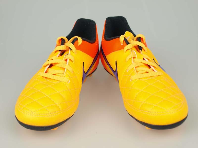 fbd607665cd5 ... Soccer junior spike NIKE Junior Tiempo Rio II FG-R laser orange / black  /
