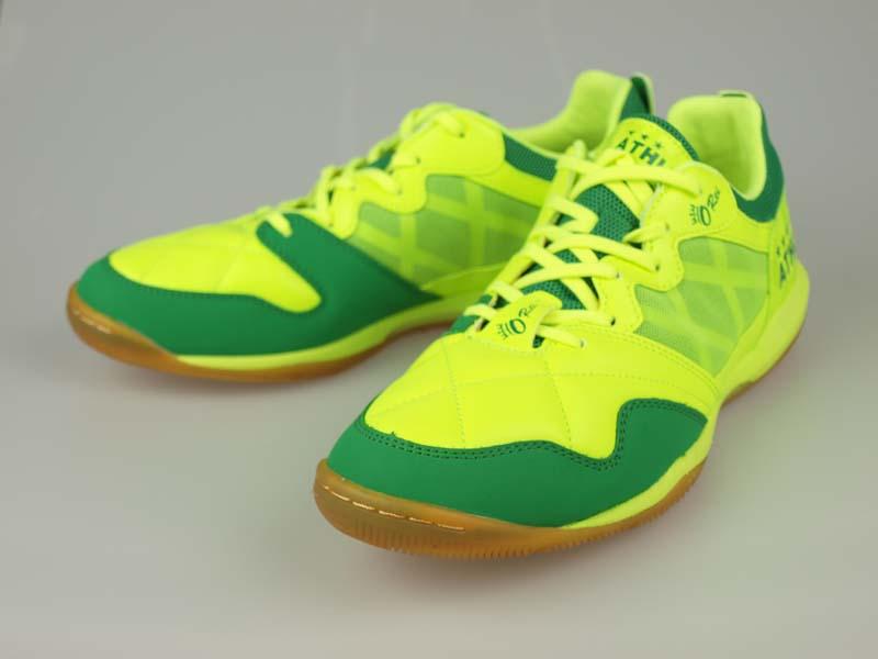 フットサルシューズ アスレタ O-Rei Futsal T002 Fライム/グリーン 11005-3833