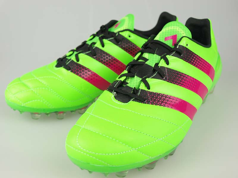 sneakers for cheap baf9b 03344 Football spike adidas ACE 16.1 Japan HG LE Solar Green / Pink shock S 16 /  core black AF5173