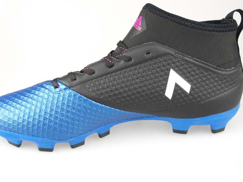 best quality 6f7c8 3c8d9 Soccer spikes Adidas ace 17.3 prime mesh HG core black / running white /  blue BA9818