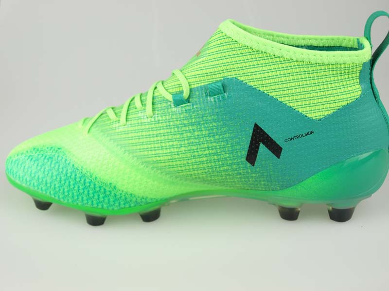Soccer spikes Adidas ace 17.1 Japan prime knit HG solar green core black core green S17 BB0936