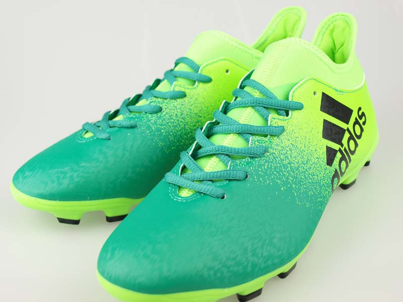 super popular 5063c 6c2e5 Soccer spikes Adidas X 16.3HG solar green / core black / core green S17  BB6064