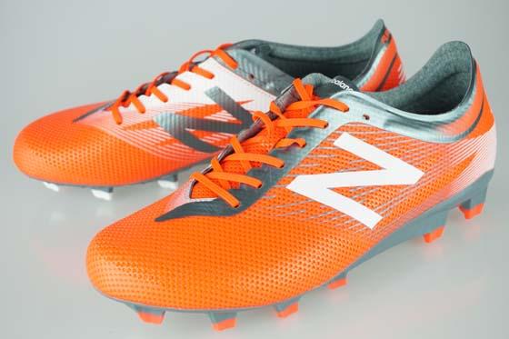 サッカー スパイク ニューバランス フューロンプロHG オレンジ/グレー MSFURHOT2E-ORG/GRY