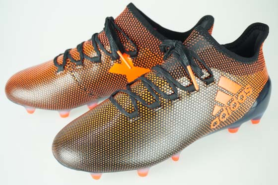 buy popular 2ace1 7c929 17FW soccer spikes Adidas X 17.1 FG/AG core black / solar red / solar  orange S82288