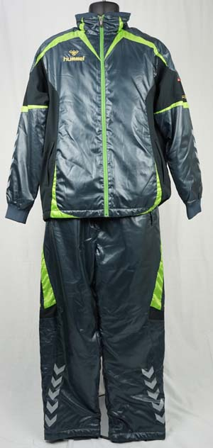 サッカー ウォーマー ヒュンメル FTRサーモライトジャケット、パンツ上下セット ダークスレート HAW2026-HAW3026