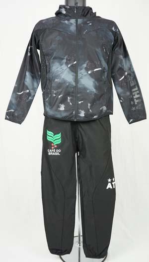 サッカー フットサル ジュニア ウェア アスレタ JRストレッチトレーニングジャケットパンツセット  04107J/04108J
