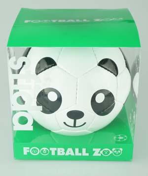 アニマル柄のかわいいミニボール サッカー 卓抜 上質 フットサル ミニボール BSF-Z0006 フットボールZOO