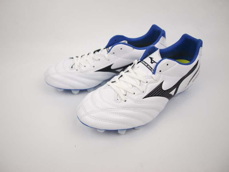 サッカー サッカースパイク シューズ MIZUNO ミズノ モナルシーダ NEO SW WHITE/BLACK/BLUE P1GA202409