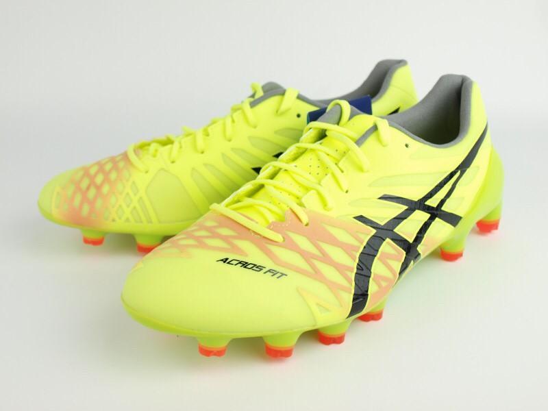 サッカー スパイク アシックス DS LIGHT ACROS  セーフティイエロー/ブラック 1101A017-750