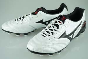 サッカー スパイク ミズノ モナルシーダ SL スーパーホワイトパール/ブラック P1GA1521-09
