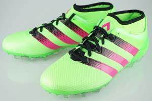 buy popular dc85a d0c5e Football spike adidas ACE 16.2 Japan Prime mesh HG Solar Green / Pink shock  S 16 / core black AQ3924