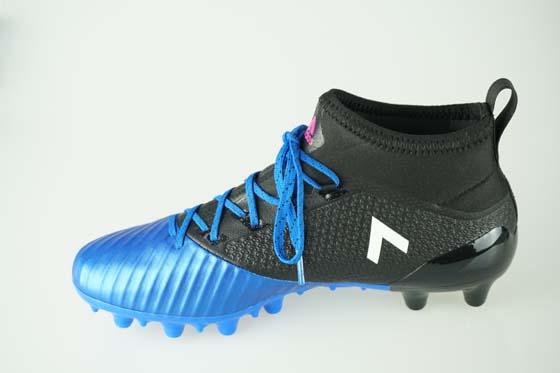 1d3fbff311f4 Soccer spikes Adidas ace 17.2 Japan prime mesh HG core black   running  white   blue BB2132