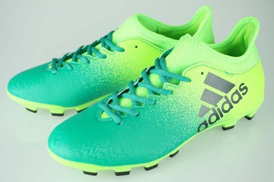 Soccer spikes Adidas X 16.3HG solar green   core black   core green S17  BB6064 a2b9a59da5c8