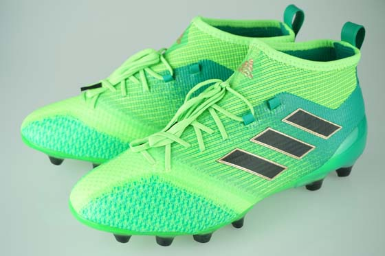 107d498df7de Soccer spikes Adidas ace 17.1 Japan prime knit HG solar green   core black    core green S17 BB0936