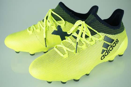 5632568023bb 17FW soccer spikes Adidas X 17.1 Japan HG solar yellow   legend ink F17   legend ink F17 S82311